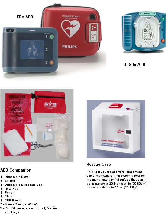 aed cpr supplies